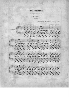 Le Vertige, Op.50: Le Vertige by Peter Cavallo