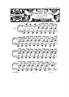 Près la Fontaine du Loup, Op.61: For a single performer by Peter Cavallo