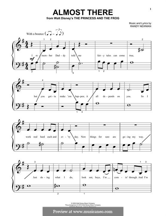 Almost There: Para Piano by Randy Newman