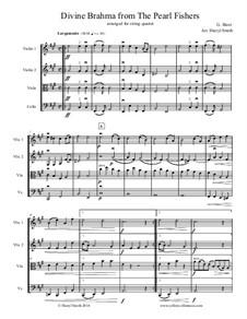 Divine Brahma Chorus: Arranged for string quartet by Georges Bizet