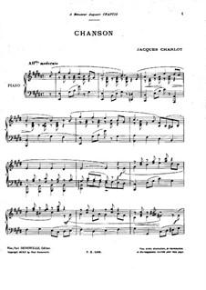 Chanson: Chanson by Jacques Charlot