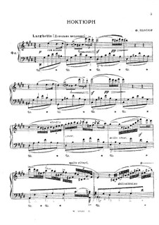 Nocturne oubliée in C Sharp Minor, KK A1/6: Para Piano by Frédéric Chopin