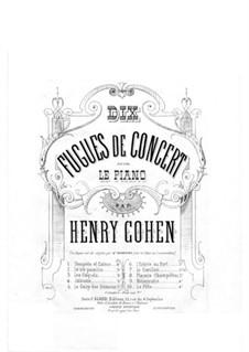 Dix Fugues de Concert: Dix Fugues de Concert by Henri Cohen