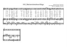 Marienwürmchens Klage: Marienwürmchens Klage by Ernst Richter