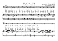 Das Ährenfeld: Das Ährenfeld by Ernst Richter