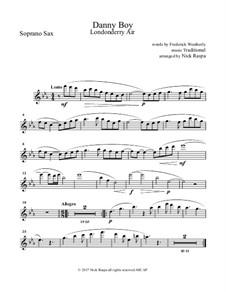 Ensemble version: For saxophone quintet - soprano sax part by folklore