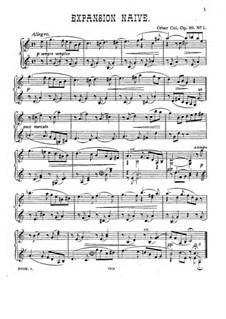 Twelve Miniatures, Op.20: set completo by César Cui