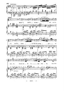 Semiramide: Ah dov'e, dov'e il cimento. Aria for Bass by Gioacchino Rossini