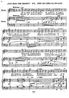 Twenty-Five Poems by Pushkin, Op.57: No.2 If Life Deceives You by César Cui