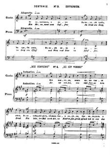 Twenty-Five Poems by Pushkin, Op.57: No.3 Epitaph by César Cui