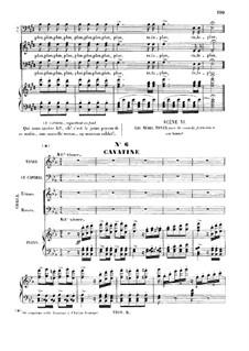 La fille du régiment (The Daughter of the Regiment): Ah mes amis, quel jour de fête! Cavatina for tenor by Gaetano Donizetti