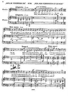 Twenty-Five Poems by Pushkin, Op.57: No.10 No, She's Not a Circassian by César Cui