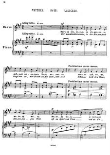 Twenty-Five Poems by Pushkin, Op.57: No.12 Little Song by César Cui