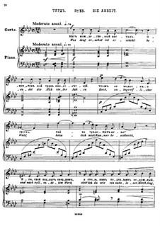 Twenty-Five Poems by Pushkin, Op.57: No.13 Labor by César Cui