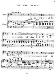 Twenty-Five Poems by Pushkin, Op.57: No.23 A Cloud by César Cui