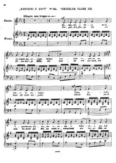 Twenty-Five Poems by Pushkin, Op.57: No.24 In Vain I Run by César Cui
