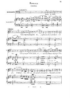La favorita: Una vergine, un angel di Dio. Romance for tenor by Gaetano Donizetti