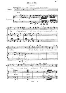 La favorita: Vien, Leonora, a piedi tuoi. Recitative and Aria for bass by Gaetano Donizetti