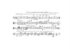 Mlada. Opera: trecho de contrabaixo by Nikolai Rimsky-Korsakov