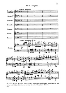 Toreador's Song: For bass and piano (french/english) by Georges Bizet
