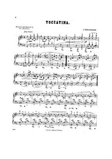 Three Little Concert Pieces, Op.5: No.2 Toccatina by Josef Gabriel Rheinberger