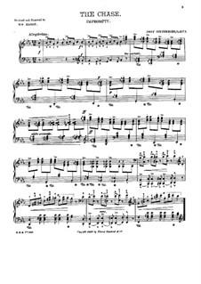 Three Little Concert Pieces, Op.5: No.1 The Chase by Josef Gabriel Rheinberger