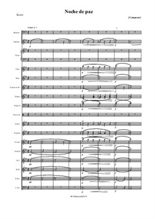 Silent Night (Downloadable): para orquestra sinfonica by Franz Xaver Gruber