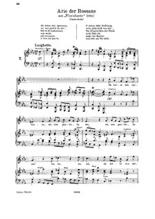 Floridante, HWV 14: Oh dolce mia speranza. Aria for soprano by Georg Friedrich Händel