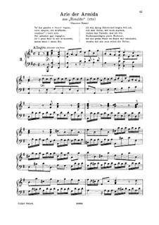 Vo' far guerra: G maior by Georg Friedrich Händel