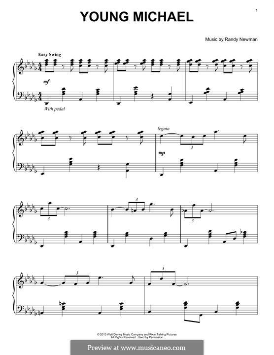 Young Michael: Para Piano by Randy Newman