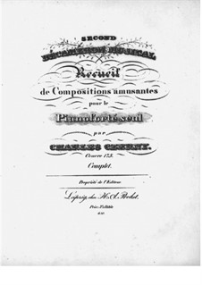 Second Décameron Musical: set completo by Carl Czerny