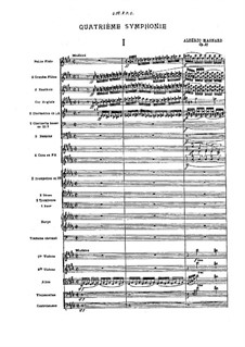 Symphony No.4 in C Sharp Minor, Op.21: Symphony No.4 in C Sharp Minor by Albéric Magnard