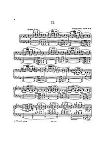 Four Etudes for Piano, Op.44: Etude No.2 in D Flat Major by Felix Blumenfeld
