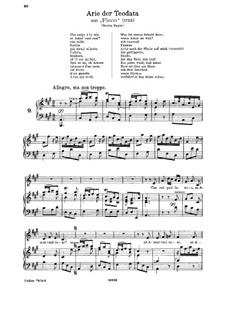 Flavio, King of the Lombards, HWV 16: Che colpa e la mia by Georg Friedrich Händel
