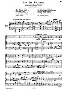 Ariodante, HWV 33: Spero per voi by Georg Friedrich Händel