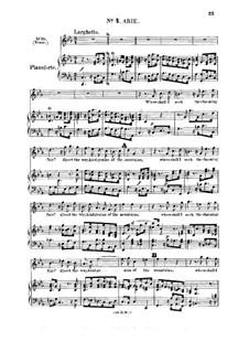 Acis and Galatea, HWV 49: Where shall I seek the charming fair. Recitative and Aria for tenor by Georg Friedrich Händel