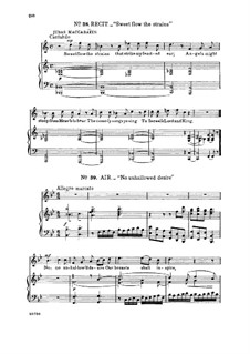 Judas Maccabaeus, HWV 63: No unhallowed desire. Recitative and Aria for tenor by Georg Friedrich Händel