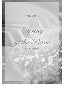 Spring at the Piano, album: New edition by Lena Orsa