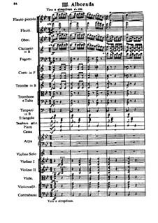 Capriccio Espagnol, Op.34: movimento III by Nikolai Rimsky-Korsakov