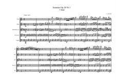 Six Sonatinas for Piano, Op.20: No.1 Movement I by Jan Ladislav Dussek
