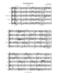 Feldpartie: Intrade by Joseph Haydn