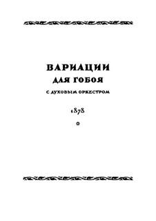 Variations on Theme by Glinka: Variations on Theme by Glinka by Nikolai Rimsky-Korsakov