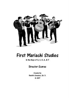 First Studies for Mariachi: set completo by folklore
