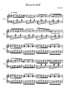 Вальс A-moll, Op.28 No.5: Вальс A-moll by Alexander Sushko