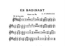 En Badinant: parte trompa by Alfredo D'Ambrosio