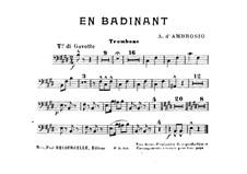 En Badinant: parte trombone by Alfredo D'Ambrosio