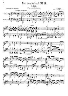 Duo concertant No.14: movimento I by Adam Darr