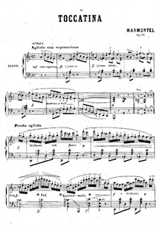 Toccatina, Op.111: Toccatina by Antoine François Marmontel