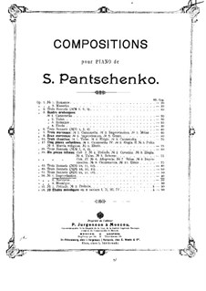 Three Pieces, Op.56: No.1 Improvisation by Semën Panchenko