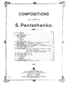 Three Pieces, Op.56: No.3 Mosaïque by Semën Panchenko